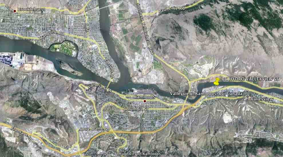 Kamloops BC - BC Hydro Collectors ( Cisco Itron Mesh Network )
